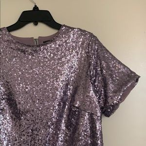 Dresses - Gorgeous Sequin mini dress NWOT never worn
